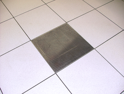 raised floor air grill