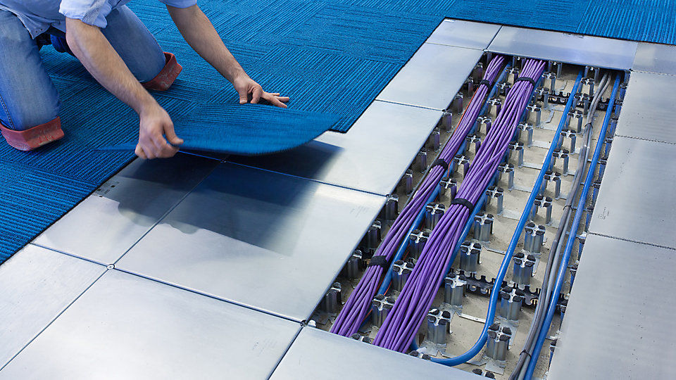 Intercell By Interface Low Void Access Flooring