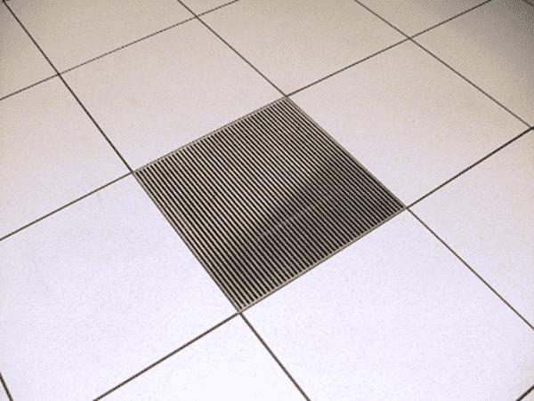 raised access flooring air cooling tiles