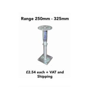 raised access flooring pedestal
