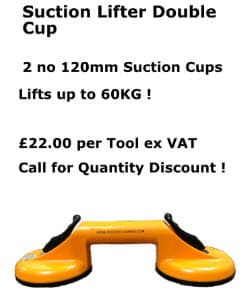 suction lifter double cup